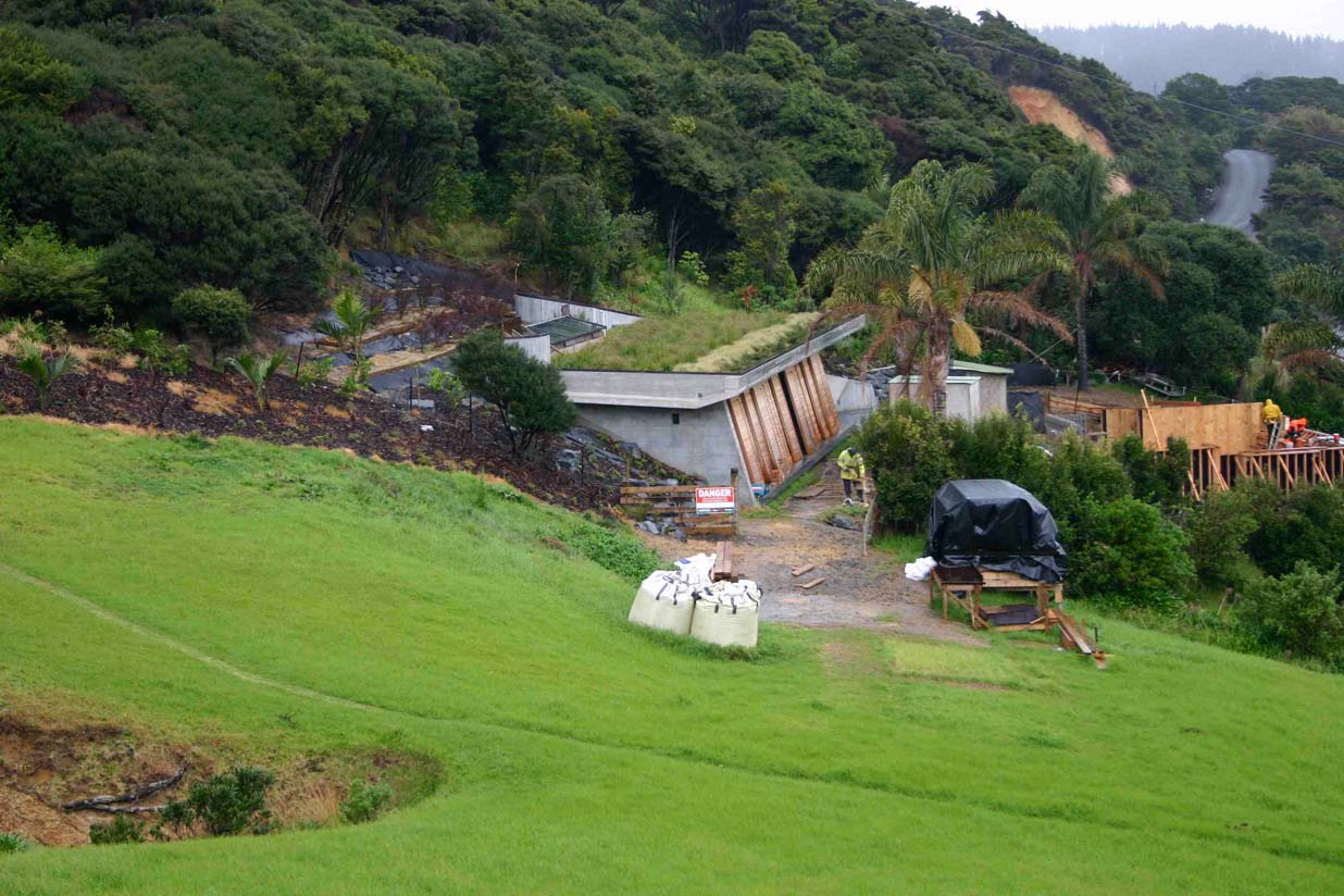 Bay of Islands green roof